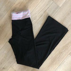 Victoria's Secret Fold-over Waist Band Yoga Pants